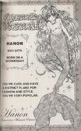 Manga - Profile Hanon