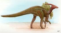 Parasaurolophus-Gareth-Monger