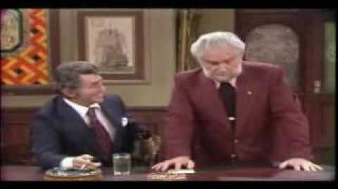Foster Brooks as the Drunk Airline Pilot