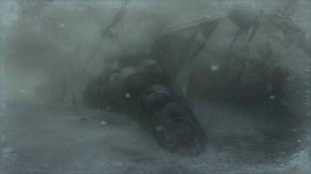 File:The crashed Hind D in the Snowfield (Metal Gear Solid 4).png