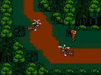 Snake's Revenge gyrocopters