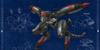 Metal Gear RAY (Unmanned Gear)