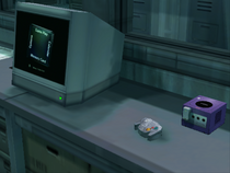 GameCube in Lab (Metal Gear Solid The Twin Snakes)