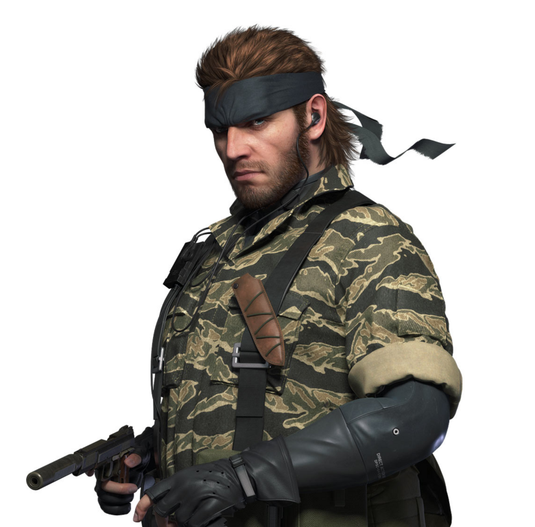 Naked Snake - Characters & Art - Metal Gear Solid: Peace