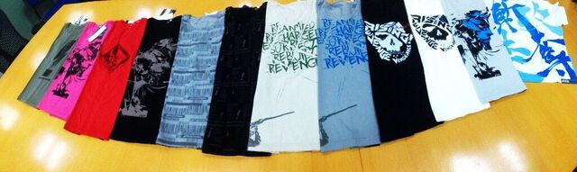 File:Metal-Gear-Rising-t-shirts.jpg