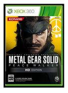 Metal Gear Solid Peace Walker HD Edition Xbox 360 JP boxart