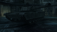 M1A1 Abrams tanks in Metal Gear Solid 4