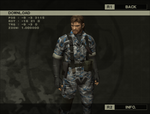 MGS3S - Bonsai Uniform 1