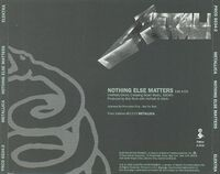 Nothing Else Matters (Elektra - PRCD 8534-2)