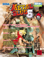 Metal Slug 6 Arcade Flyer