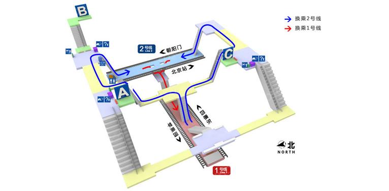 Jianguomen BJ map
