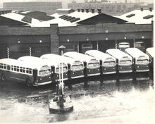 110 C R & L BUS GARAGE CONGRESS ST BPT 1950s