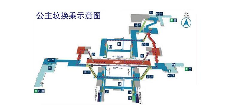 Gongzhufen BJ map