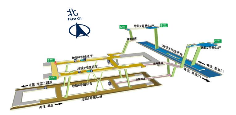 Chegongzhuang BJ map