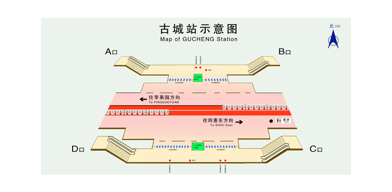 Gucheng BJ map