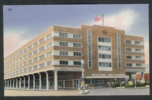 BPT. BUS TERMINAL - Postcard 1950s
