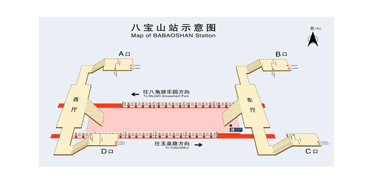 Babaoshan BJ map