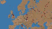 Mapa Europy w Uniwersum Metro 2033