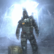 Hunter in the beginning of metro 2033
