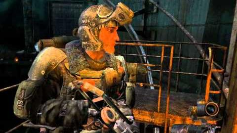 Metro 2033 (Stealth hardcore challenge walkthrough) Chapter 6 D6