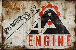 4A Engine logo
