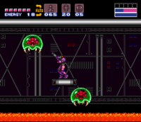 Super Metroid Tourian
