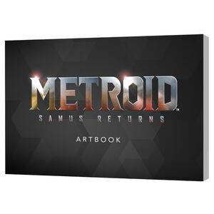 Metroid Samus Returns Artbook