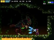 AM2R Omega Metroid Battle
