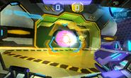 Blast Ball ball going in