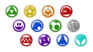 Nintendo Land Icons