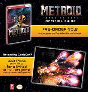 Metroid Samus Returns Prima art print