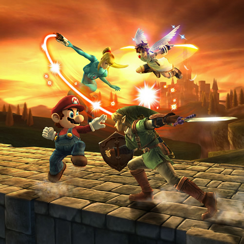 File:SSBB fight render with Zamus.png