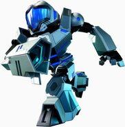 Federation Force Blue Mech