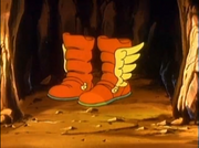 High Jump Boots Captain N
