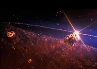 Space Pirate asteroid base