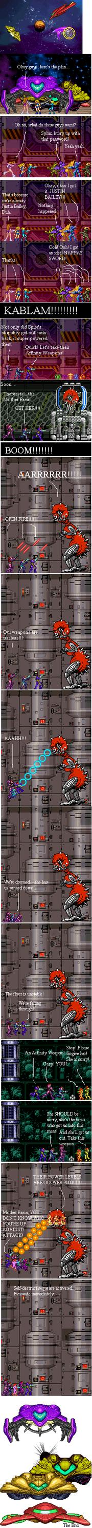 Metroid Ultimate Power 2