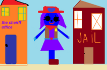 Raven the cowgirl.
