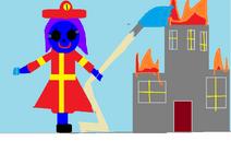 Raven the ,firewomen