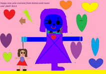 RAVEN THE GIRL AND HER DOLL.