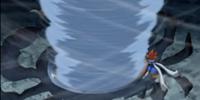 Tornado Wing (special move)