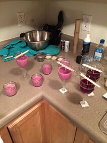 Wine candles