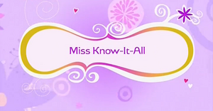 Miss Know-It-All