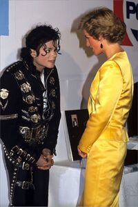 Mj and diana