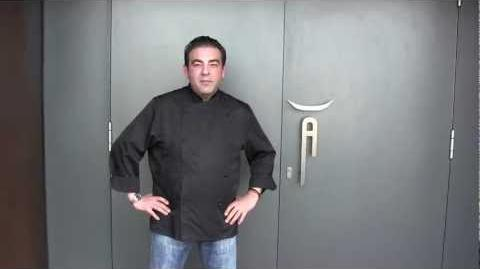 Amador gives a tour of his 3 Michelin star restaurant