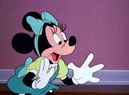 Minnie elated