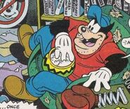Pete in Mickey Mouse Adventures comic