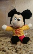 Mickey mouse power doll