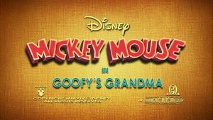 Goofy's Grandma title