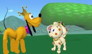 Prince Pluto and Princess Bella (Pluto's Tale)