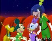 Martain Mickey and Pluto 4